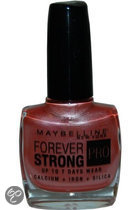 Maybelline Nagellak Forever Strong   - 14 Silver Plum
