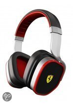 Logic3 Ferrari Scuderia R300 Active Noise Cancelling Headphones Zilver PC + Mac + Mobile
