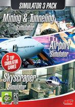 Simulatie Pack - Mining & Tunneling Simulator + Airport Simulator + Skyscraper Simulator