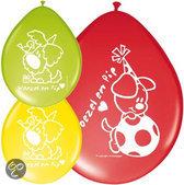 Woezel en pip Ballonnen 8 stuks (23155)
