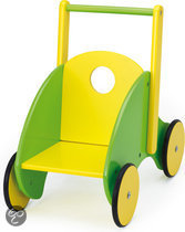 Bayer Poppenwagen Modern - Geel/Groen