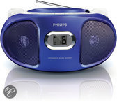 Philips AZ105 - Radio/Cd-speler - Paars