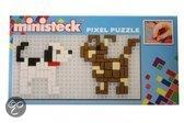 Ministeck Hondjes mini pixel puzzle