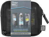Dove Men+Care Mini Toilettas - 4 delig - Geschenkset