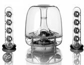 Harman Kardon SoundSticks III Wireless - 2.1 speakerset met Bluetooth - Transparant