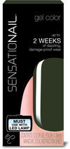 Sensationail Gel Polish - Force of Nature - Groen - Gelnagellak