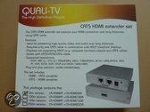 QUALI-TV CAT5 HDMI extender set 50 meter