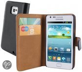 Mobiparts Classic Wallet Case Samsung Galaxy S2/S2 Plus Black