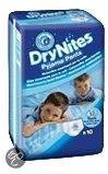 DryNites Boy - Absorberende Broekjes 4-7 jr