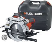 Black & Decker 1500W cirkelzaag met laser en koffer KS1500LK