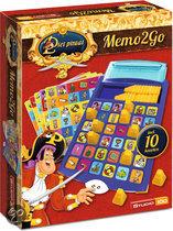 Memo 2 go spel van Piet Piraat