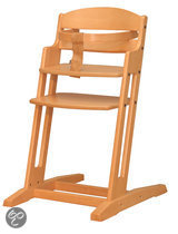 BabyDan - Dan High Chair Kinderstoel - Naturel