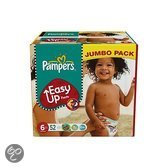 Pampers Easy Ups - Maat 6 Jumbo box 52 st.