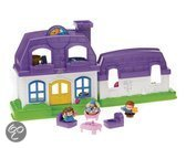 Fisher-Price Little People Grappige Geluiden Huis Speelset