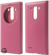LG G3 view cover hoesje roze