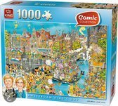 King Puzzel - Komische Amsterdam Koninginnedag
