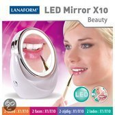 LED Mirror X10 - Make-up Spiegel