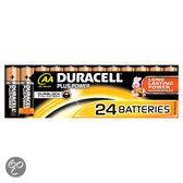 Duracell Plus Power AA Alkaline Batterijen 24x Pak