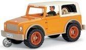 Schleich Terreinwagen met Chauffeur Miniatuur