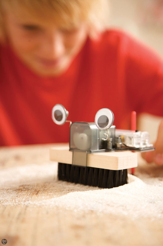 4M Fun Mechanics Kit - Borstel Robot