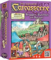 Carcassonne: Bruggen, Burchten en Bazaars uitbreidingset - Bordspel