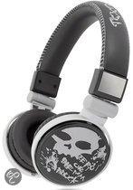 Foto van Qware Funky Skull Headphone Grijs