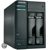 Asustor AS-302T 2-Bay 0TB - NAS Server - HDMI uitgang