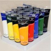 20 tubes acrylverf set 120 ml