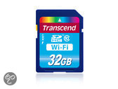 Transcend WiFi SD kaart 32 GB