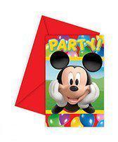 Uitnodingen Mickey Mouse Colours