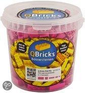 Q-Bricks Pink Mix 350