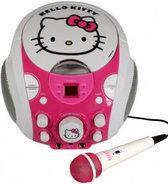 Hello Kitty Draagbare Karaoke Set met Microfoon