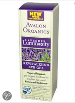 Avalon Organics Voedingssupplementen Revitaliserende Oog Gel, Lavendel Luminosity (28 g) - Avalon Organics