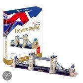 3D Puzzel Tower Bridge 118Dlg.