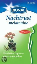 Bional Nachtrust Melatonine - 40 capsules - Voedingssupplement