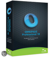 Nuance Omnipage Professional 18 - Nederlands / Upgrade