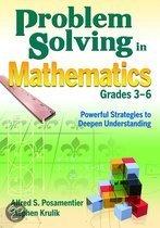 Problem Solving in Mathematics, Grades 3-6