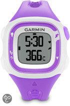 Garmin Forerunner 15 - GPS Sporthorloge voor Dames - Paars/Wit