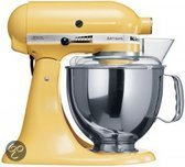KitchenAid Artisan Keukenmachine 5KSM150PSEMY - Geel
