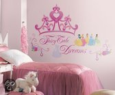 RoomMates - Muursticker Princess Crown - Multi
