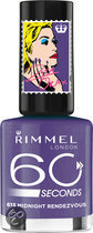 Rimmel 60 seconds RO collectie - 613 Midnight Rendezvous - Nailpolish