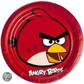 Studio 100 Bordjes angry birds 23 cm 8 stuks