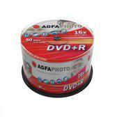 AgfaPhoto DVD+R 4.7GB 16x, CakeBox, 50 pcs