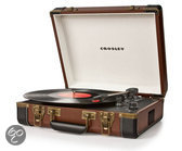 Crosley Home entertainment - Platenspelers CR6019A BROWN