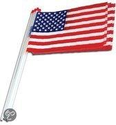USA zwaaivlaggetjes 10 stuks