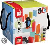Kubix 100 gekleurde dominostenen