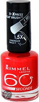 Rimmel 60 seconds finish nailpolish - 440 Orange Fizz - Nailpolish