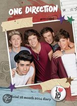 Official One Direction 2014 A6 Diary