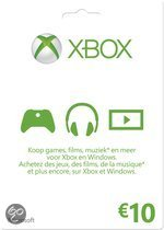 Microsoft Xbox Live - 10 euro Kaart (Xbox 360 + Xbox One)