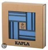 Kapla 40 Stuks met Boek - Licht-/Donkerblauw